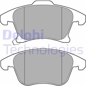 Plaquettes de frein avant DELPHI LP3181 (X1)