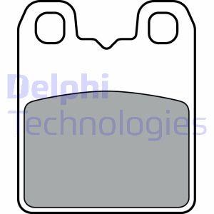 Freinage DELPHI LP3382 (X1)