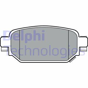 Freinage DELPHI LP3393 (X1)