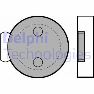 Freinage DELPHI LP422 (X1)
