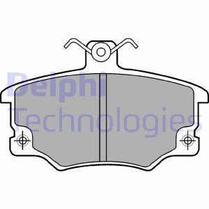 Plaquettes de frein DELPHI LP459 (X1)