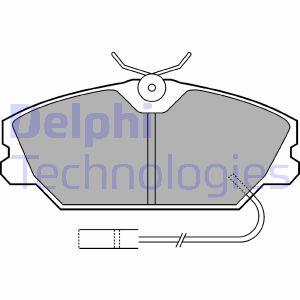 Kit de plaquettes de frein de stationnement DELPHI LP539 (X1)