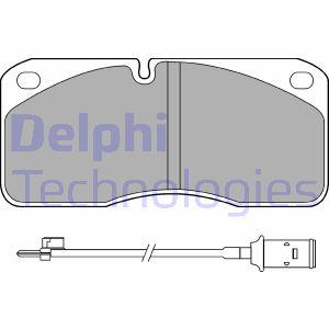 Kit de plaquettes de frein de stationnement DELPHI LP859 (X1)