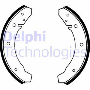kit de frein arrière simple ou prémonté DELPHI LS1098 (X1)