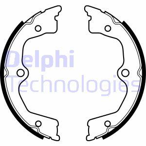 Jeu de mâchoires de frein de frein à main DELPHI LS2033 (X1)