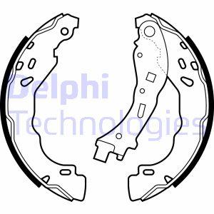kit de frein arrière simple ou prémonté DELPHI LS2065 (X1)