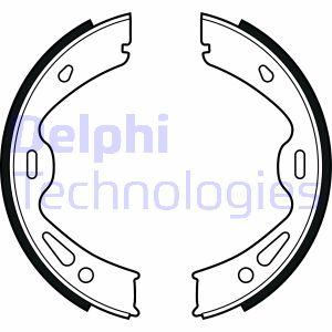 Jeu de mâchoires de frein de frein à main DELPHI LS2091 (X1)