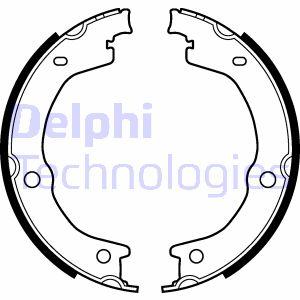 Jeu de mâchoires de frein de frein à main DELPHI LS2118 (X1)