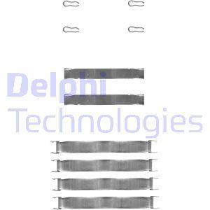 Kit de montage plaquettes de frein DELPHI LX0019 (Jeu de 8)