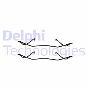 Kit de montage plaquettes de frein DELPHI LX0236 (Jeu de 2)