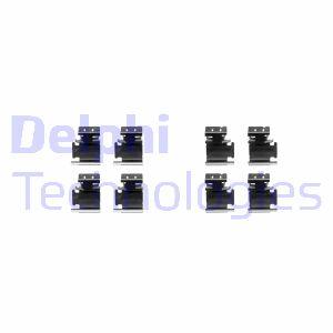 Kit de montage plaquettes de frein DELPHI LX0354 (X1)