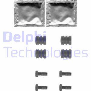 Kit de montage plaquettes de frein DELPHI LX0355 (X1)