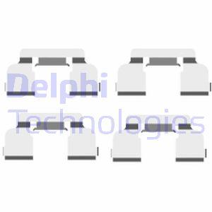 Kit de montage plaquettes de frein DELPHI LX0410 (X1)