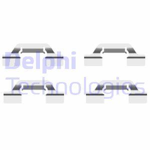 Kit de montage plaquettes de frein DELPHI LX0438 (X1)