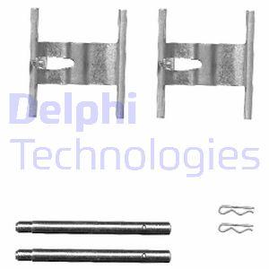 GENUINE DELPHI Plaquettes Frein Avant Kit d/'accessoires-LX0449