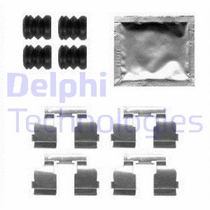 Kit de montage plaquettes de frein DELPHI LX0554 (Jeu de 9)