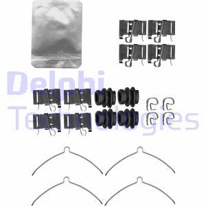 Kit de montage plaquettes de frein DELPHI LX0609 (X1)