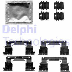 Kit de montage plaquettes de frein DELPHI LX0619 (Jeu de 9)