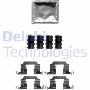 Kit de montage plaquettes de frein DELPHI LX0650 (X1)