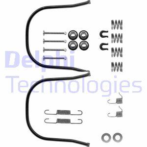 Kit de montage machoires de frein DELPHI LY1050 (X1)