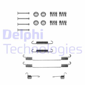 Kit de montage machoires de frein DELPHI LY1122 (Jeu de 18)