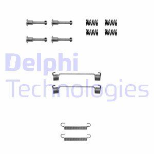 Kit d'accessoires mâchoires de frein de stationnement DELPHI LY1125 (X1)