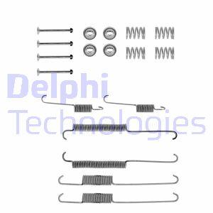 Kit de montage machoires de frein DELPHI LY1167 (Jeu de 18)