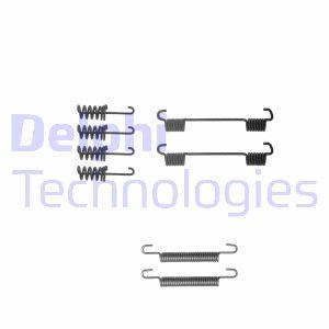 Kit d'accessoires mâchoires de frein de stationnement DELPHI LY1259 (X1)