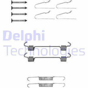 Kit d'accessoires mâchoires de frein de stationnement DELPHI LY1306 (Jeu de 12)