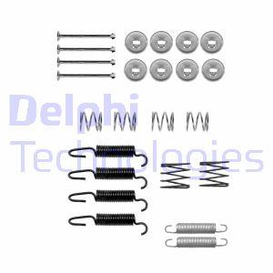 Kit d'accessoires mâchoires de frein de stationnement DELPHI LY1312 (X1)