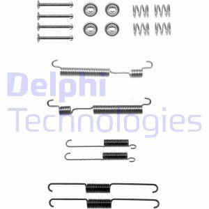 Kit de montage machoires de frein DELPHI LY1318 (Jeu de 18)