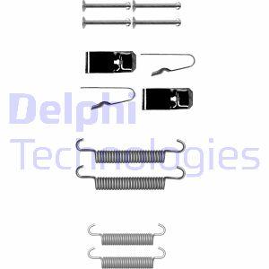 Kit d'accessoires mâchoires de frein de stationnement DELPHI LY1362 (Jeu de 12)