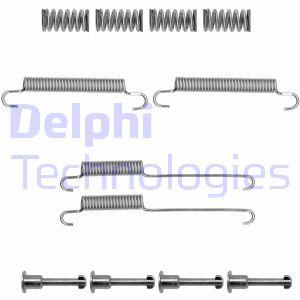 Kit d'accessoires mâchoires de frein de stationnement DELPHI LY1363 (Jeu de 12)