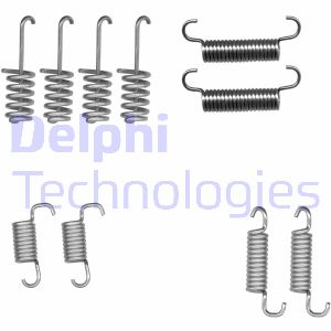 Kit d'accessoires mâchoires de frein de stationnement DELPHI LY1404 (X1)