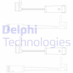 Temoin d'usure de frein DELPHI LZ0163 (X1)