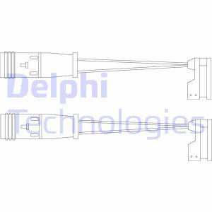 Temoin d'usure de frein DELPHI LZ0185 (X1)