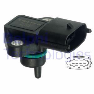 Capteur, pression du tuyau d'admission DELPHI PS10151 (X1)
