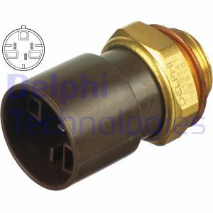 Interrupteur de temperature, ventilateur de radiateur DELPHI TS10341 (X1)