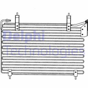 Condenseur / Radiateur de climatisation DELPHI TSP0225150 (X1)