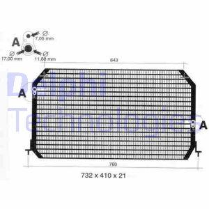 Condenseur / Radiateur de climatisation DELPHI TSP0225308 (X1)