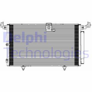 Condenseur / Radiateur de climatisation DELPHI TSP0225609 (X1)