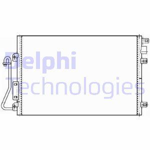 Condenseur / Radiateur de climatisation DELPHI TSP0225635 (X1)