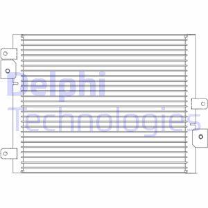 Condenseur / Radiateur de climatisation DELPHI TSP0225681 (X1)