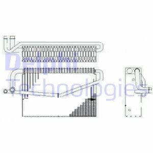 Evaporateur DELPHI TSP0525188 (X1)