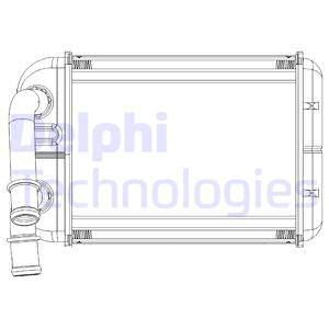 Radiateur de chauffage DELPHI TSP0525538 (X1)