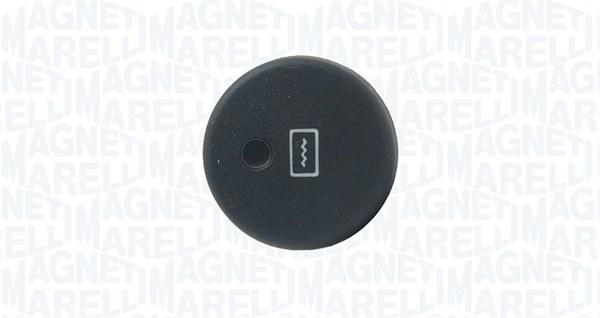 Commutateur, chauffage de la lunette arriere MAGNETI MARELLI 000049040010 (X1)