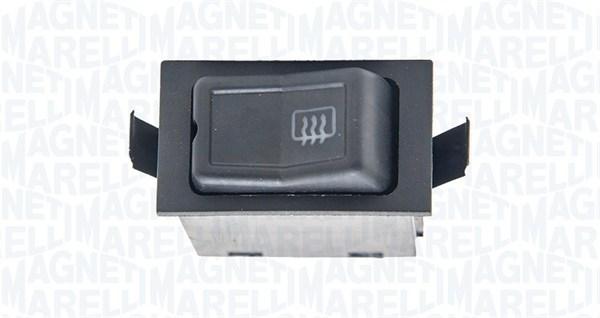 Commutateur, chauffage de la lunette arriere MAGNETI MARELLI 000050015010 (X1)