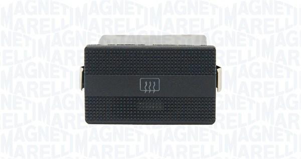 Commutateur, chauffage de la lunette arriere MAGNETI MARELLI 000050018010 (X1)