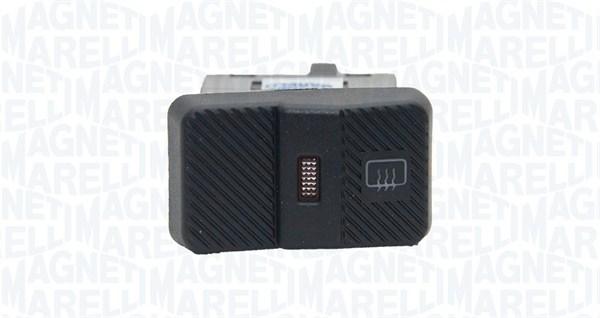 Commutateur, chauffage de la lunette arriere MAGNETI MARELLI 000050019010 (X1)