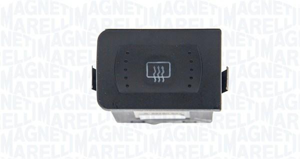 Commutateur, chauffage de la lunette arriere MAGNETI MARELLI 000051002010 (X1)